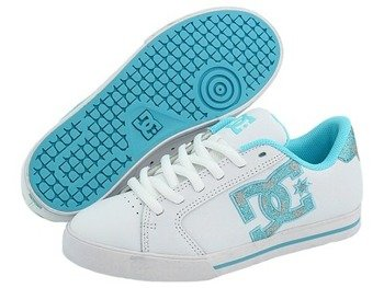 buty damskie DC Journal SE (WHITE/WHITE/OCEAN)