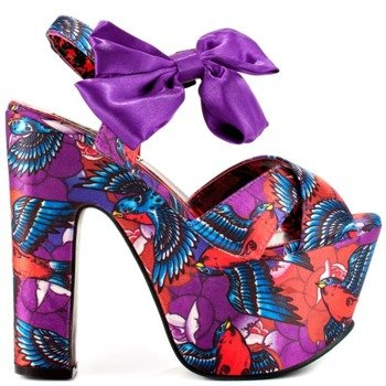 buty na koturnie IRON FIST - HAVANA BREEZE SUPER PLATFORM