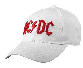 czapka AC/DC - LOGO WHITE