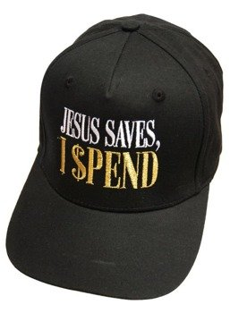 czapka DARKSIDE - JESUS SAVES, I SPEND