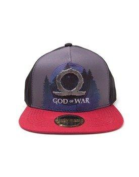 czapka GOD OF WAR - SUBLIMATION PRINT METAL BADGE