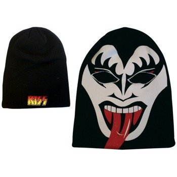 czapka KISS - BEANIE THE DEMON GERMAN LOGO