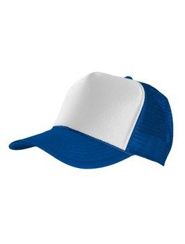 czapka MASTERDIS - BASEBALL CAP TRUCKER, royal/white