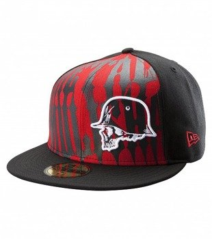 czapka METAL MULISHA - CUSTODY RED (M11596100)