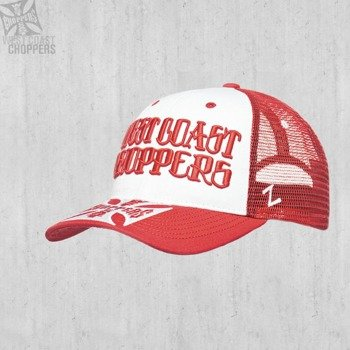 czapka WEST COAST CHOPPERS - CLUTCH LOGO ROUND BILL TRUCKER