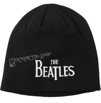 czapka zimowa THE BEATLES - DROP T LOGO czarna