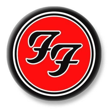 duży kapsel FOO FIGHTERS - LOGO