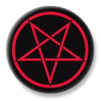 duży kapsel PENTAGRAM RED