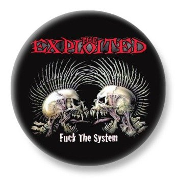 duży kapsel THE EXPLOITED - FUCK THE SYSTEM