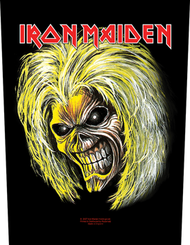 ekran IRON MAIDEN - KILLERS/EDDIE