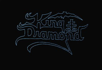 ekran KING DIAMOND - BLUE LOGO