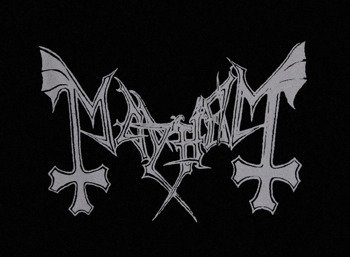 ekran MAYHEM - GREY LOGO