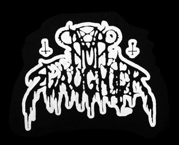 ekran NUNSLAUGHTER - WHITE LOGO