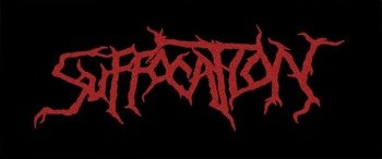 ekran SUFFOCATION - NEW RED LOGO