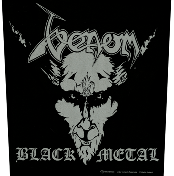 ekran VENOM - BLACK METAL