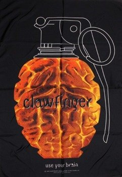 flaga CLAWFINGER - USE YOUR BRAIN