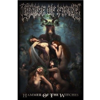 flaga CRADLE OF FILTH - HAMMER OF THE WITCHES