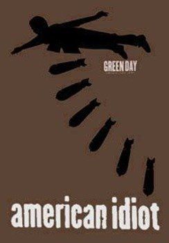 flaga GREEN DAY - AMERICAN IDIOT