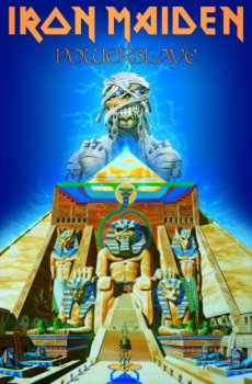 flaga IRON MAIDEN - POWERSLAVE