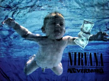 flaga NIRVANA - NEVERMIND