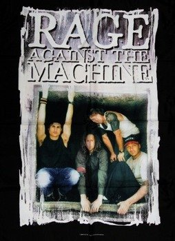 flaga RAGE AGAINST THE MACHINE - FRAMED PIC