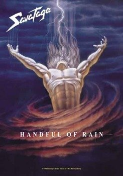 "flaga SAVATAGE ""HANDFUL OF RAIN"""