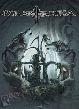 flaga SONATA ARCTICA - TWO WOLVES