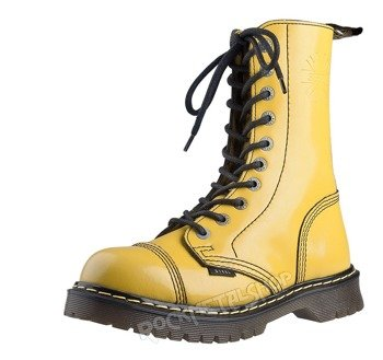 glany STEEL - FULL YELLOW (10 dziurek) AL