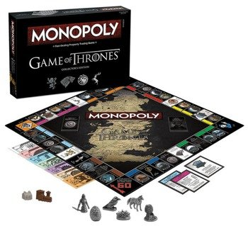 gra planszowa GAME OF THRONES BOARD GAME MONOPOLY COLLECTOR'S EDITION, English Version
