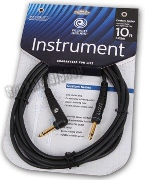 kabel gitarowy 3,05 m PLANET WAVES CLASSIC kąt/prosty (PW-GRA-10)