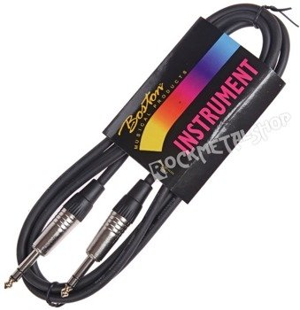 kabel instrumentalny BOSTON 2m JACK prosty/prosty 6,3mm STEREO