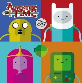 kalendarz ADVENTURE TIME 2018