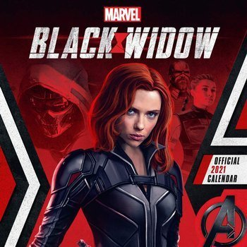 kalendarz BLACK WIDOW 2021