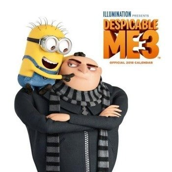 kalendarz DESPICABLE ME 3 2018
