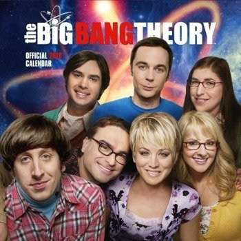 kalendarz THE BIG BANG THEORY 2018