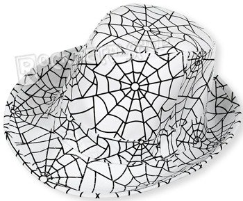 kapelusz ROCK DADDY - SPIDER'S WEB WHITE