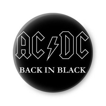 kapsel AC/DC - BACK IN BLACK