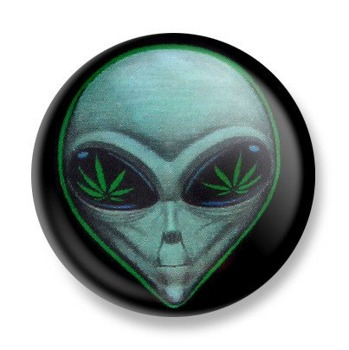 kapsel ALIEN MARIJUANA Ø25mm