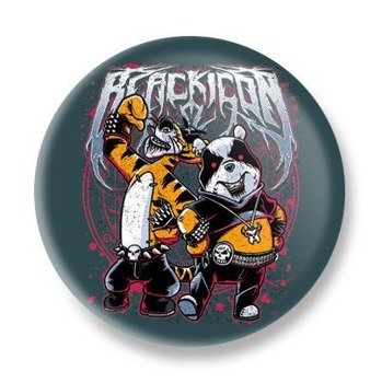 kapsel BLACK ICON - BLACK METAL MASCOT (KICON041 BLUE GREY)