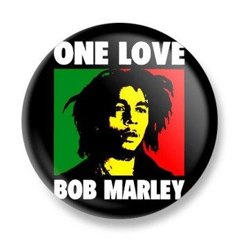 kapsel BOB MARLEY - ONE LOVE