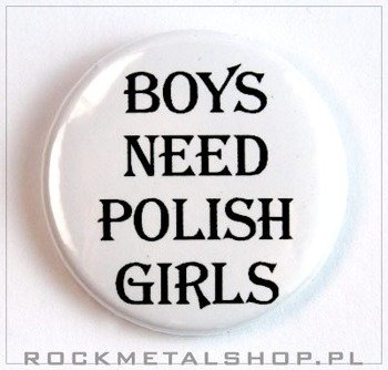 kapsel BOYS NEED POLISH GIRLS