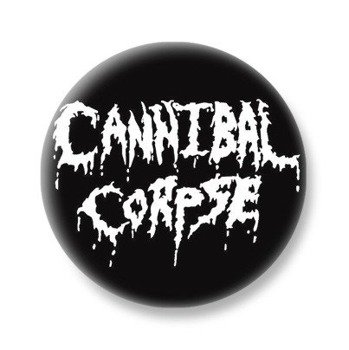 kapsel CANNIBAL CORPSE - OLD LOGO WHITE