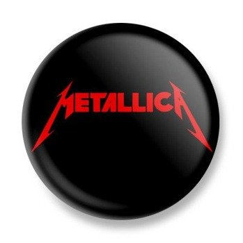 kapsel METALLICA - RED LOGO