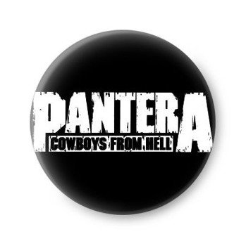 kapsel PANTERA - COWBOYS FROM HELL