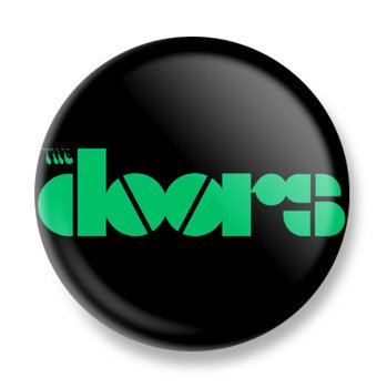 kapsel THE DOORS - LOGO GREEN