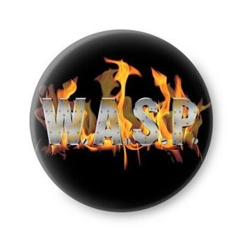 kapsel W.A.S.P.- FLAMING LOGO