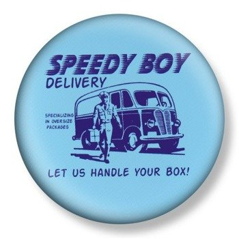 kapsel średni DAVID & GOLIATH - SPEEDY BOY DELIVERY Ø38mm