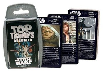 karty STAR WARS - EPISODE IV - VI TOP TRUMPS