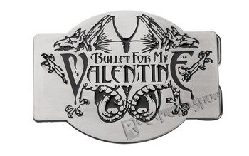 klamra do pasa BULLET FOR MY VALENTINE - LOGO & CREATURES