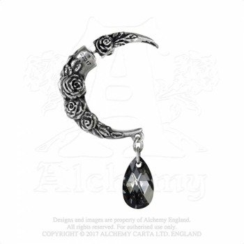 kolczyk CRESCENT MOON EAR STRETCHER